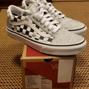 Vans Old Skool worn once sz 8